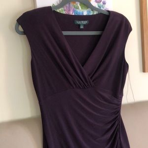 Ralph Lauren purple dress